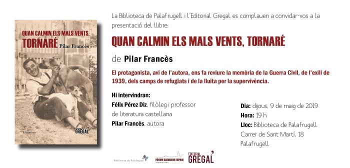 Invitació QUAN CALMIN ELS MALS VENTS_Palafrugell
