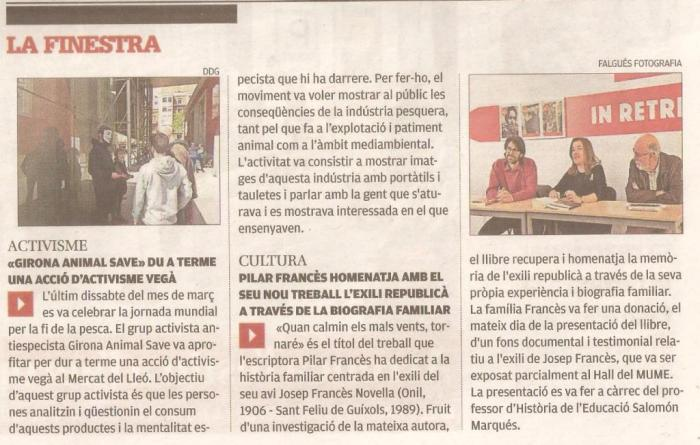 Diari de Girona, MUME