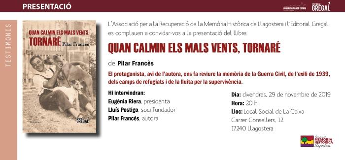 Invitació_QUAN CALMIN ELS MALS VENTS_Llagostera